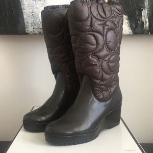 Winter boots by COACH